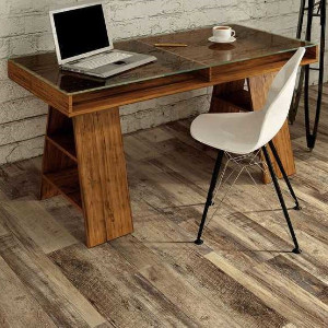 LVP gives you the look of hardwood and the durability of laminate at a fraction of the cost!